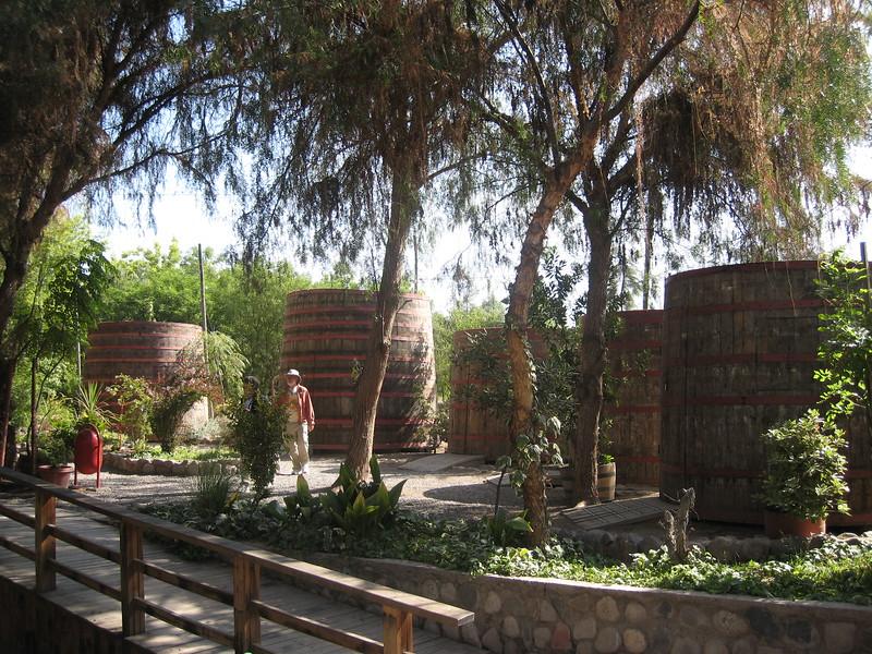 Pisco Distillery, Coquimbo, Chile