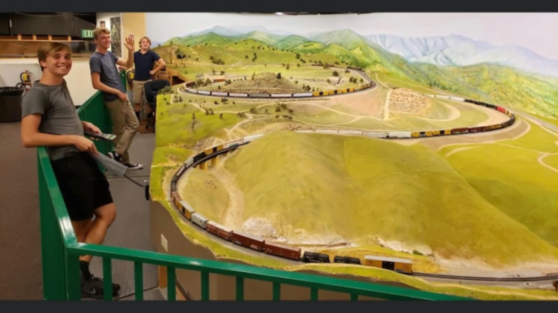 Encinitas Student Turns Model Railroading Hobby into Scholarship