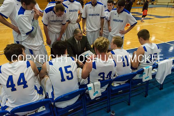 Hamilton Men's Basketball v SUNY-Cobleskill 11-28-15