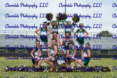 2017 Nelson County Cheer Squad - Seniors