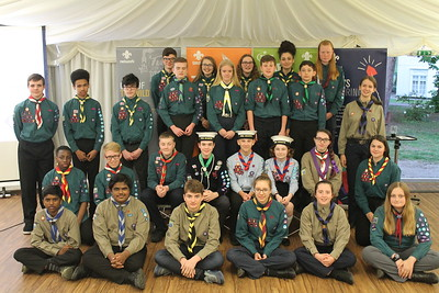 Chief Scout Awards  (April 2019)
