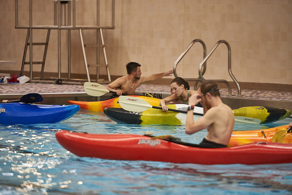 Kayaking Sessions at Laurel Highlands High School