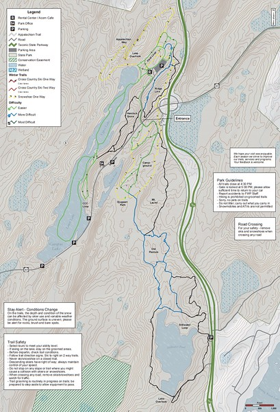 Clarence Fahnestock State Park (Winter Park Map)