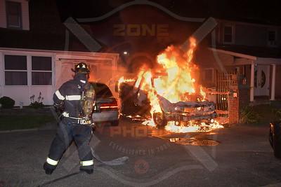 Seaford F.D.  Car Fire       Gilmartin Lane  7/9/20
