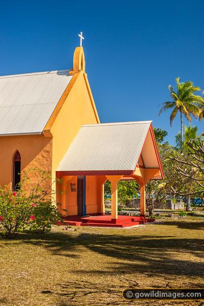 Tetamanu Church