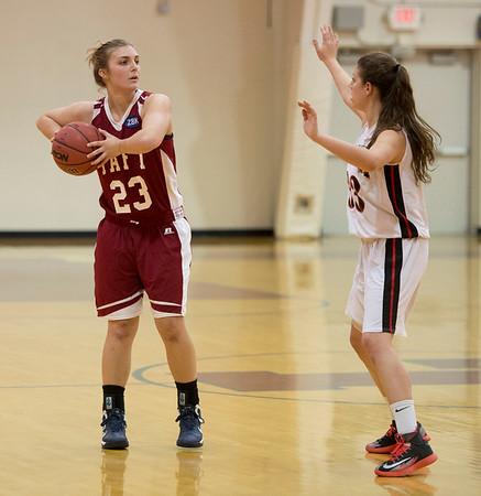 12/10/14: Girls' Varsity Basketball vs Pomfret