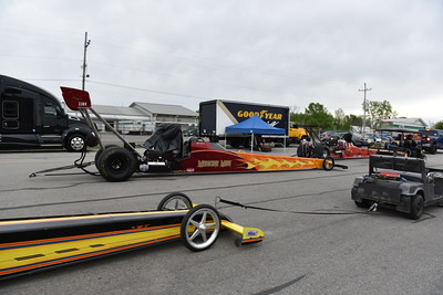 Top Alcohol Dragster Staging Lanes