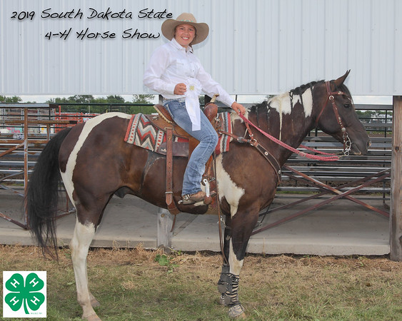 2019 SD State 4-H Horse Show Event Winners