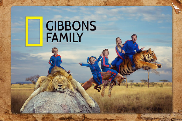 Gibbons Family Photo 2015