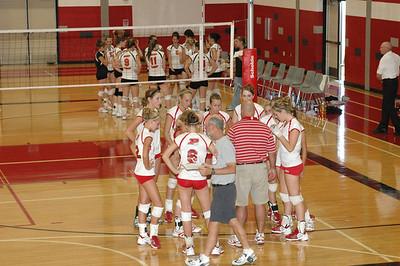 Girls Varsity Volleyball 2007-2008 - 8/25/2007 Fremont Inv 1st Dig JG