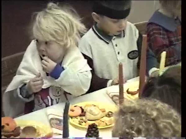 Mi - Celebration Montessori Thanksgiving 1994 - Part 3 of 4