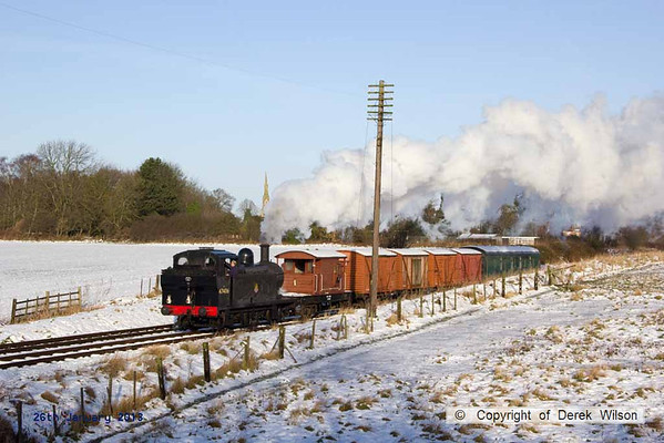 2013, 26th January GCR winter steam gala