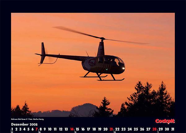 Cockpit Calendar – Dec 2008