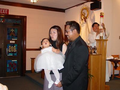 Gabby's Baptism