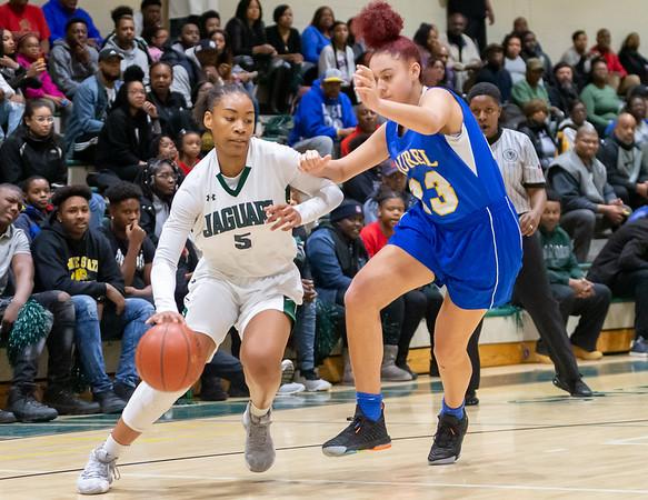 Girls basketball: Laurel vs. Flowers