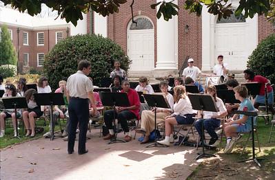 Elizabeth--CHHS band downtown CH--1990