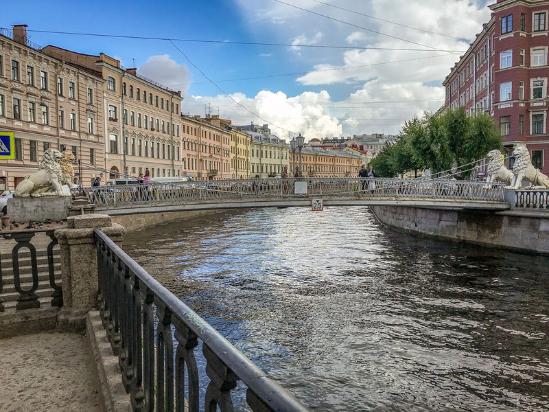 A canal in St Petersburg