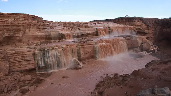 Grand Falls - Chocolate Falls