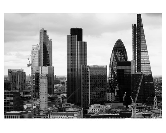 The City From St Paul's August 2015