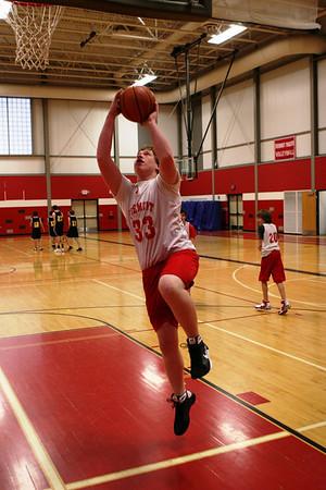 Middle School Boys Basketball 8A - 2008-2009 - 1/21/2009 Tri-County