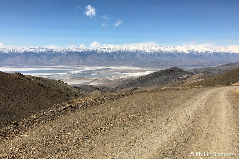 The Sierras and Owens Lake