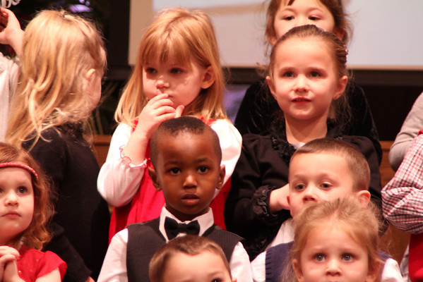 2012 Preschool Christmas Concert
