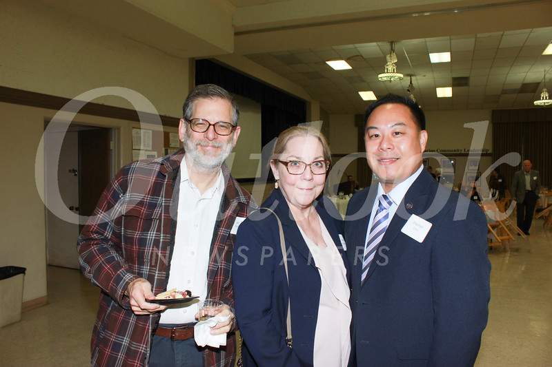 Jeff Plumley, Irene McDermott and Stephen Choi