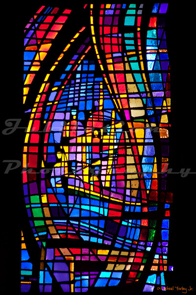 St. Paul's Episcopal Church - Six days of Creation windows - Day 6.
