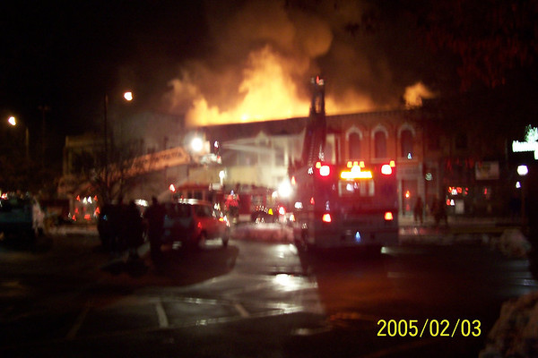 Downtown Dover Fire 2005