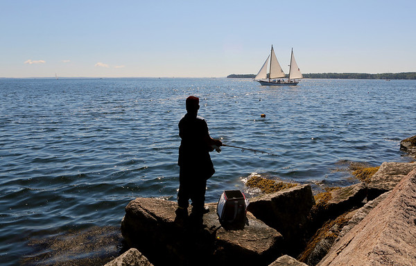 2015-08-10 - Breakwater Lighthouse, Penobscot Observatory, Fort Knox