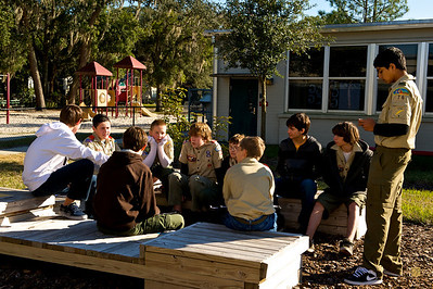Troop Meeting, January 10, 2010