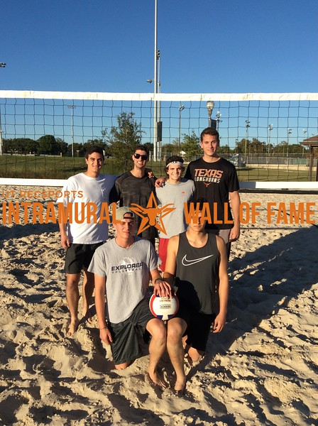Fall 2017 Sand Volleyball Men's Runner Up TX Sammy