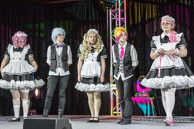 Otakon Vegas 2017 Maid Cafe Show