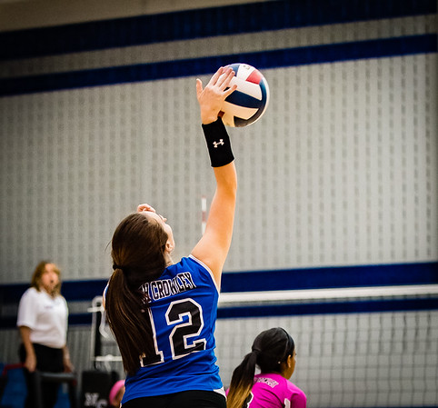 Volleyball, JV, 2015, 10-06-15, Paschal-23
