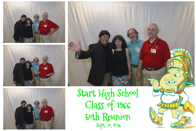 Start H. S. Class of 1966 - 50th Reunion Fotobooth Fun
