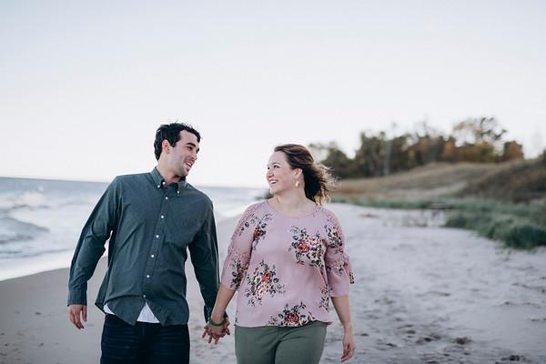 Kelley + Chet | Kohler Andrae Sheboygan Engagement Session