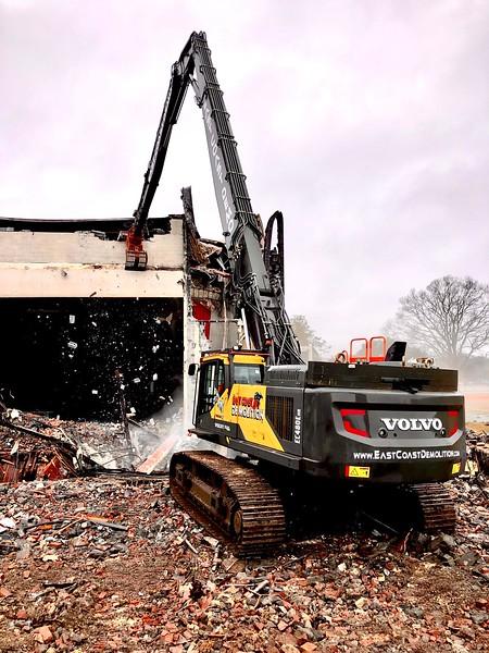 NPK DG30 demo grab on Volvo high reach excavator - East Coast Demolition 3-20 (2).jpg