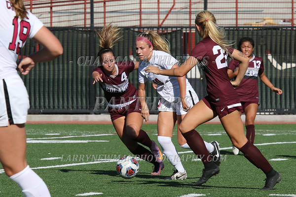W SOCCER vs. Redlands 9-27-17