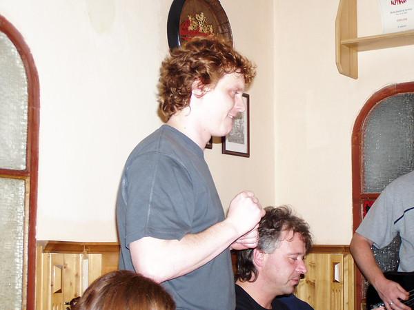 2004 - Zapíjení Adélky
