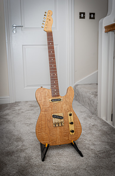 Luthier built - Telecaster - Natural - Unknown Year