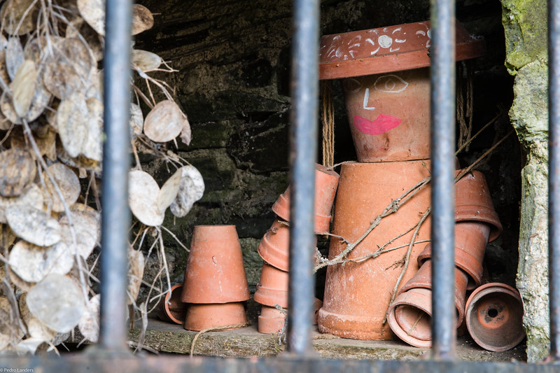 Flowerpot Man Behind Bars