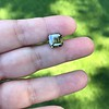 4.57ct Fancy Dark Greenish Yellow Brown Asscher Cut Diamond GIA 17