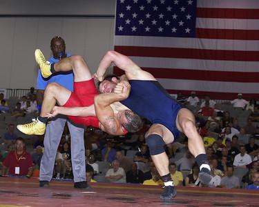 Greco-Roman Championships 84 Kg, Brad Vering (Sunkist Kids) def. Jacob Clark (U.S. Marines)