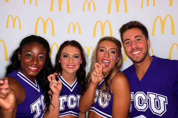 McDonald's - TCU vs UT