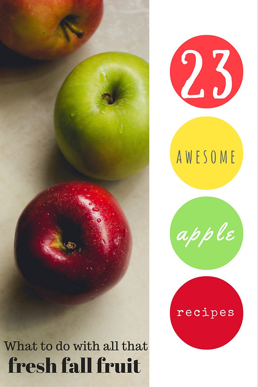 . Overabundance of apples? We have 23 ideas for what you can do with the favorite fall fruit.