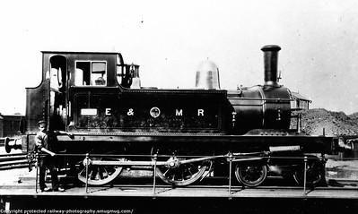 E&MR Eastern & Midlands Railway Hudswell Clarke 4-4-0T