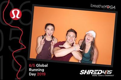 Global Running Day - Shred415 @ Lululemon