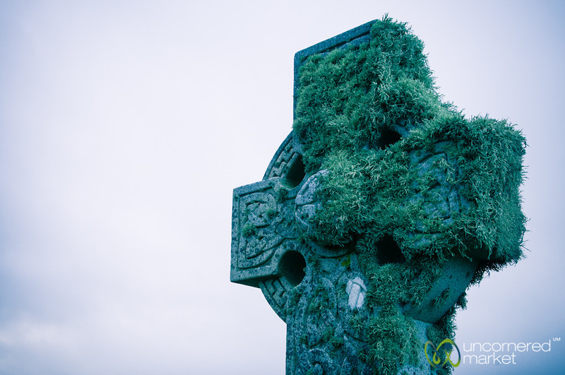 Kilmuir Cemetery, Celtic Cross - Isle of Skye, Scotland