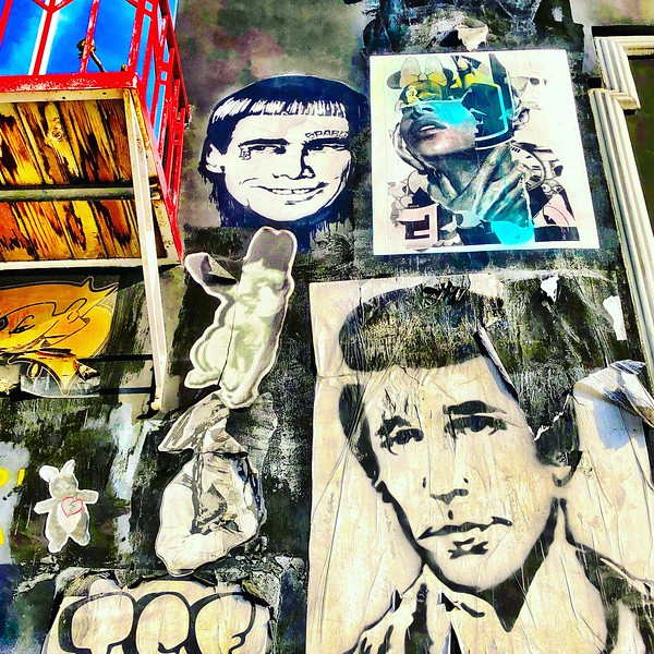 Melrose Street Art with the Fonz, LA