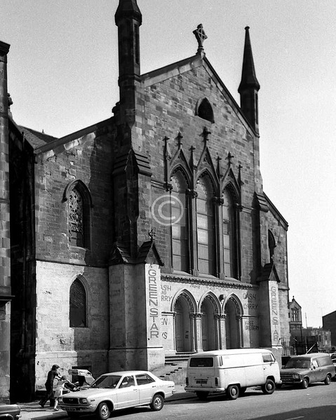 McKinlay St. Elgin St U F again.    July 1975